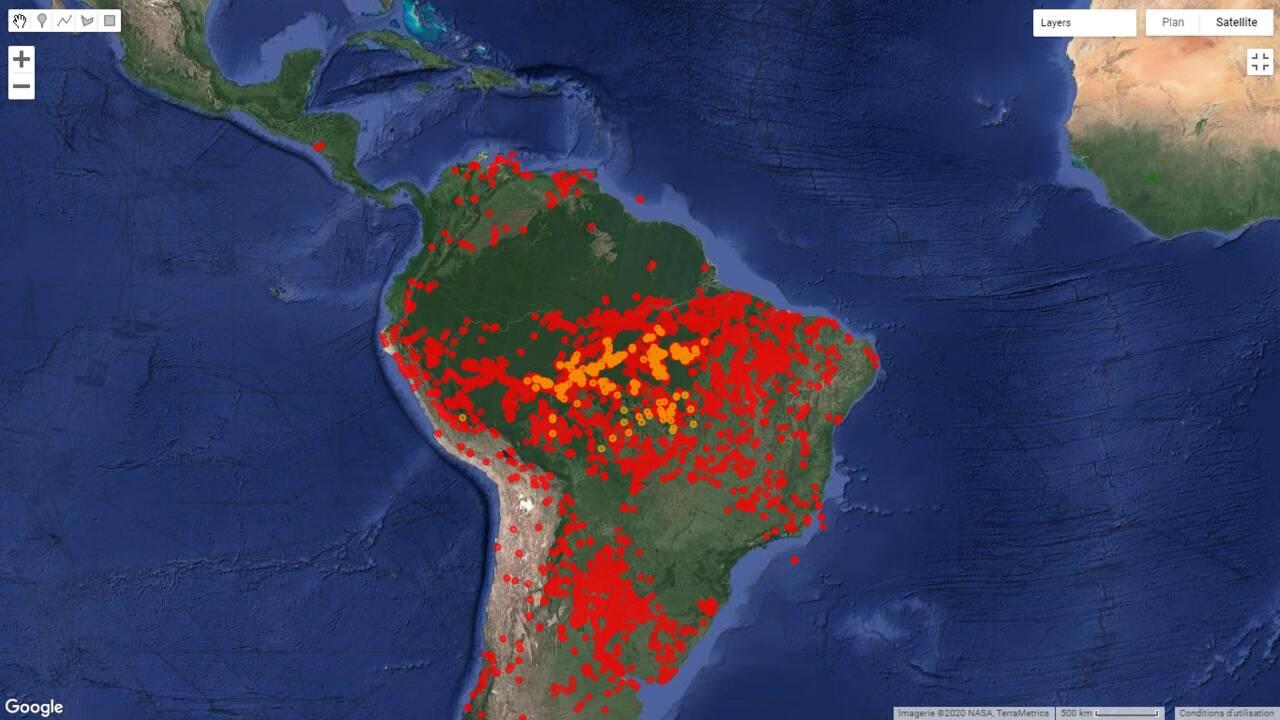 Au Brésil, les incendies illégaux continuent de ravager la forêt amazonienne