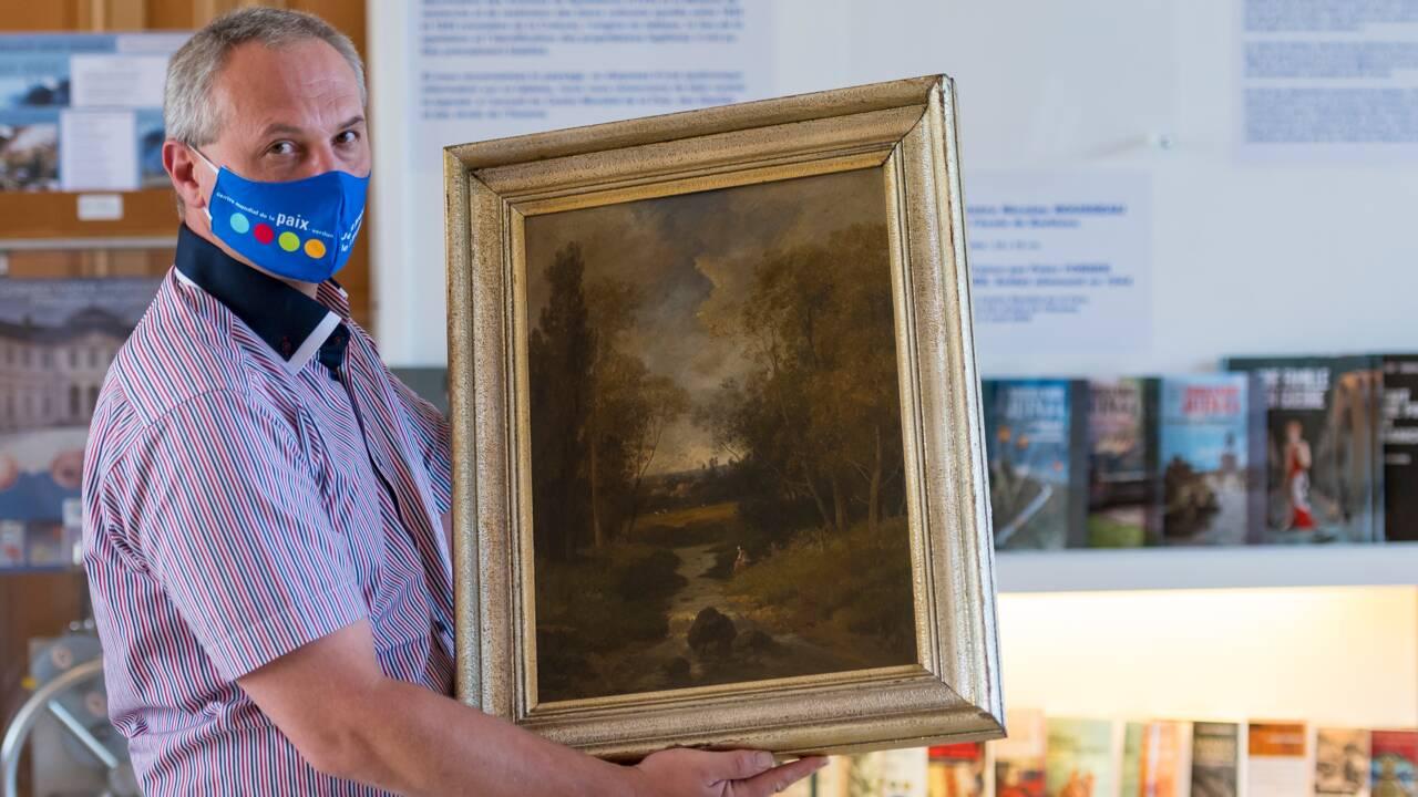 Un tableau dérobé sous l'Occupation par un soldat allemand exposé à Verdun en quête de ses propriétaires