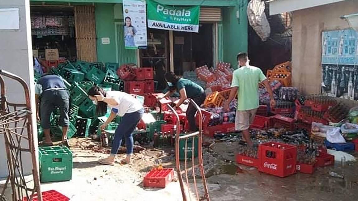 Un fort séisme aux Philippines fait un mort et des dizaines de blessés