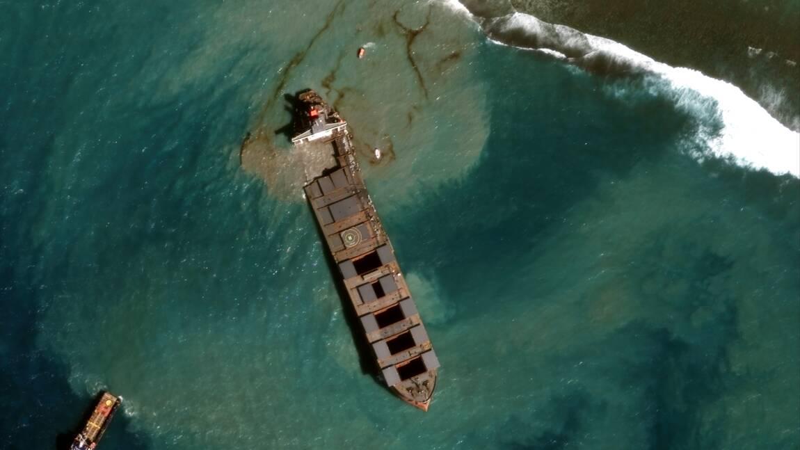 Marée noire à Maurice: l'armateur du navire promet 8 millions d'euros