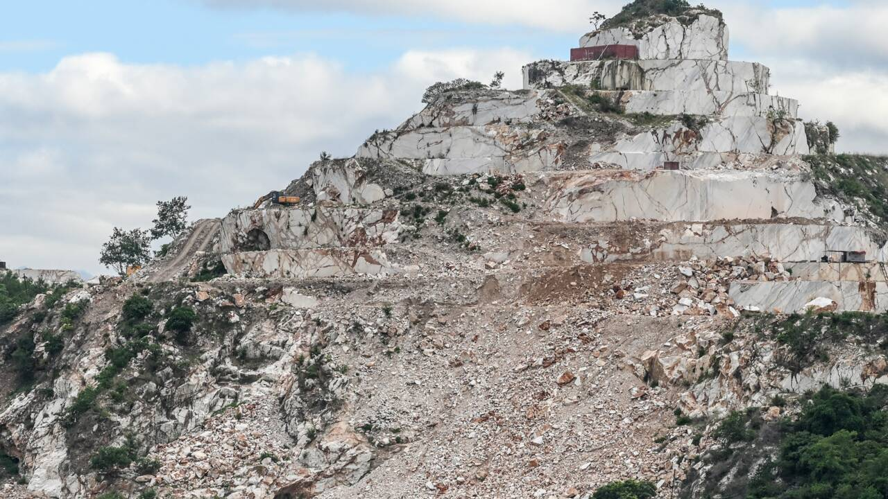 Birmanie: des collines de marbre font l'objet de toutes les convoitises
