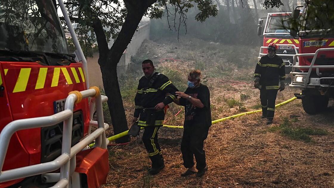 Plusieurs centaines d'hectares parcourus par un incendie dans les Bouches-du-Rhône