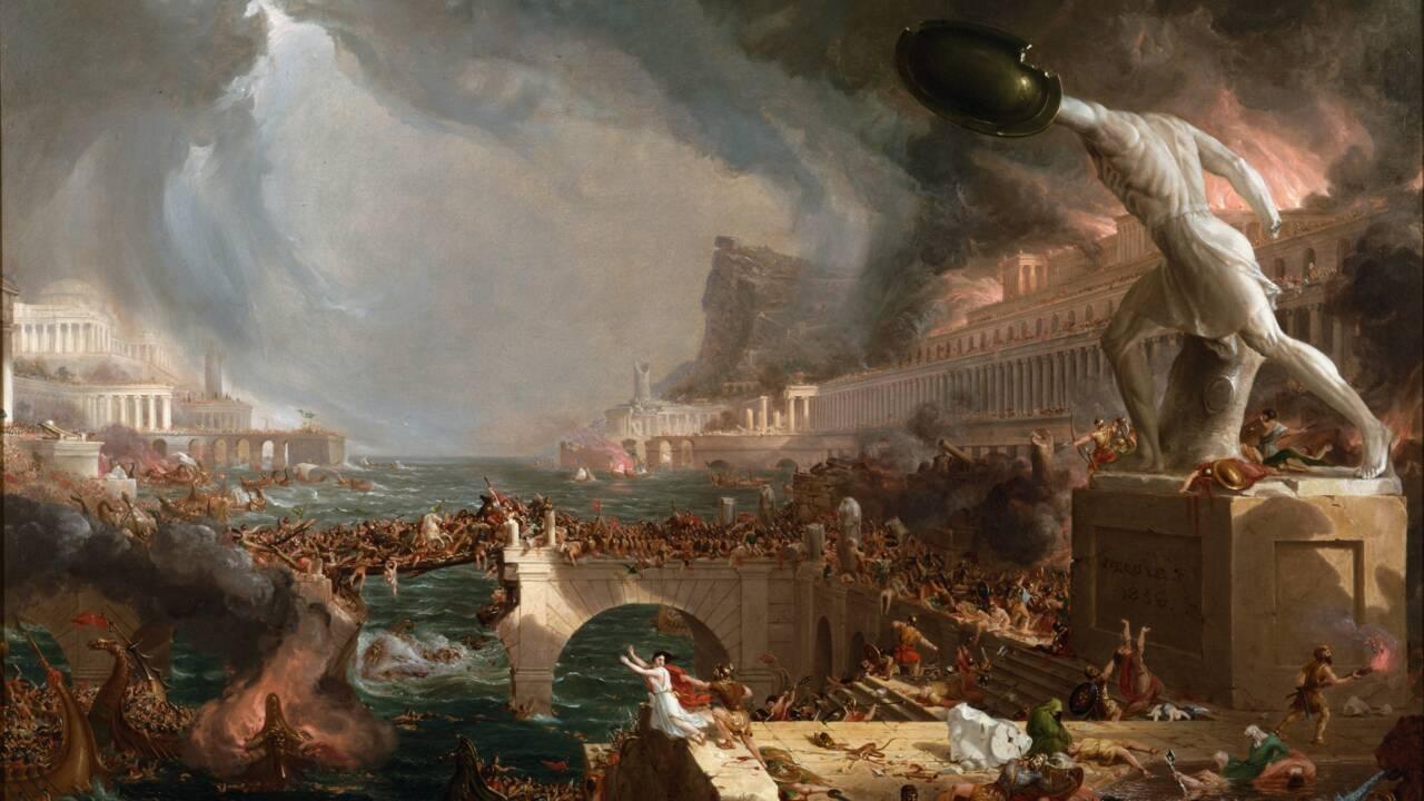 Et les barbares mirent l'Empire à genoux... Le récit de la chute de Rome