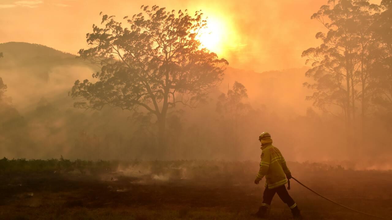 """Australie: les feux de 2019/2020 """"clairement"""" attisés par le réchauffement climatique"""