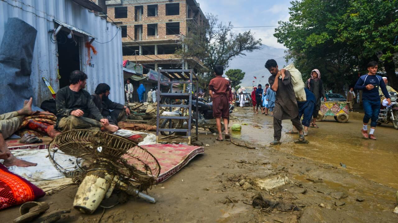 Afghanistan: une ville ravagée par une crue éclair, au moins 72 morts