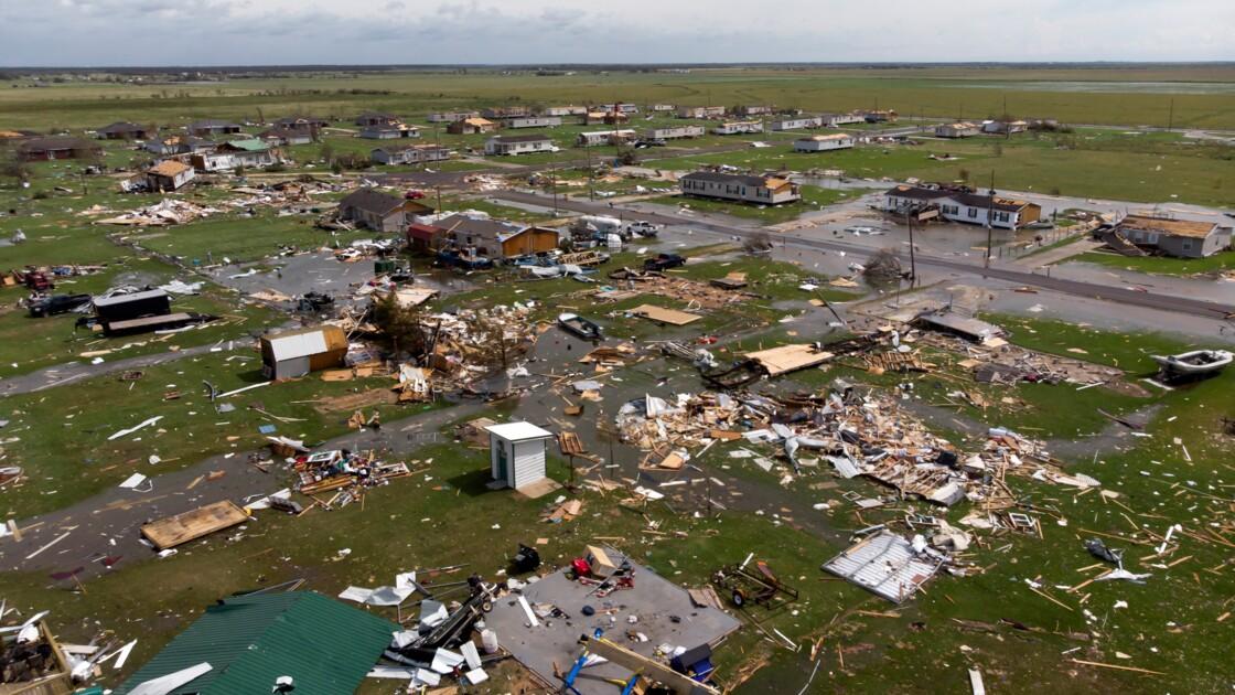 Louisiane: l'ouragan Laura a fait six morts mais moins de dégâts que redouté