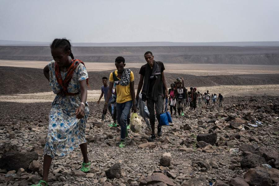 Galafi, à Djibouti, l'une des régions les plus chaudes du monde