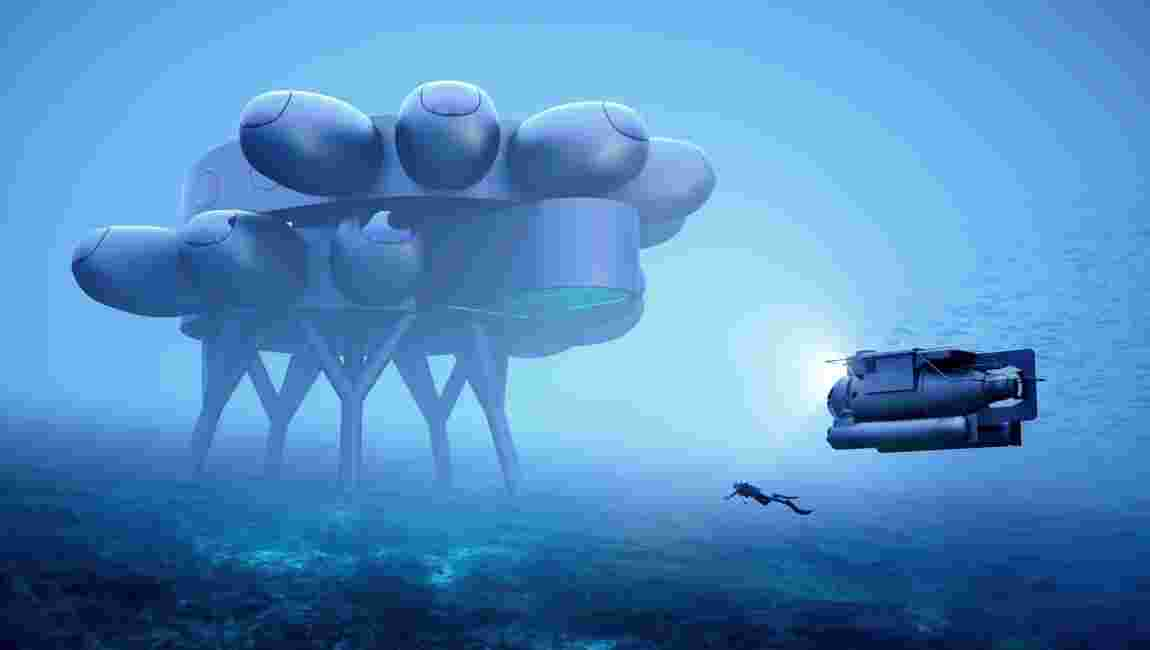 Le petit-fils du commandant Cousteau veut construire une immense station sous-marine dans les Caraïbes