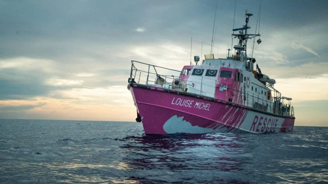 Banksy affrète un navire en Méditerranée pour porter secours aux migrants