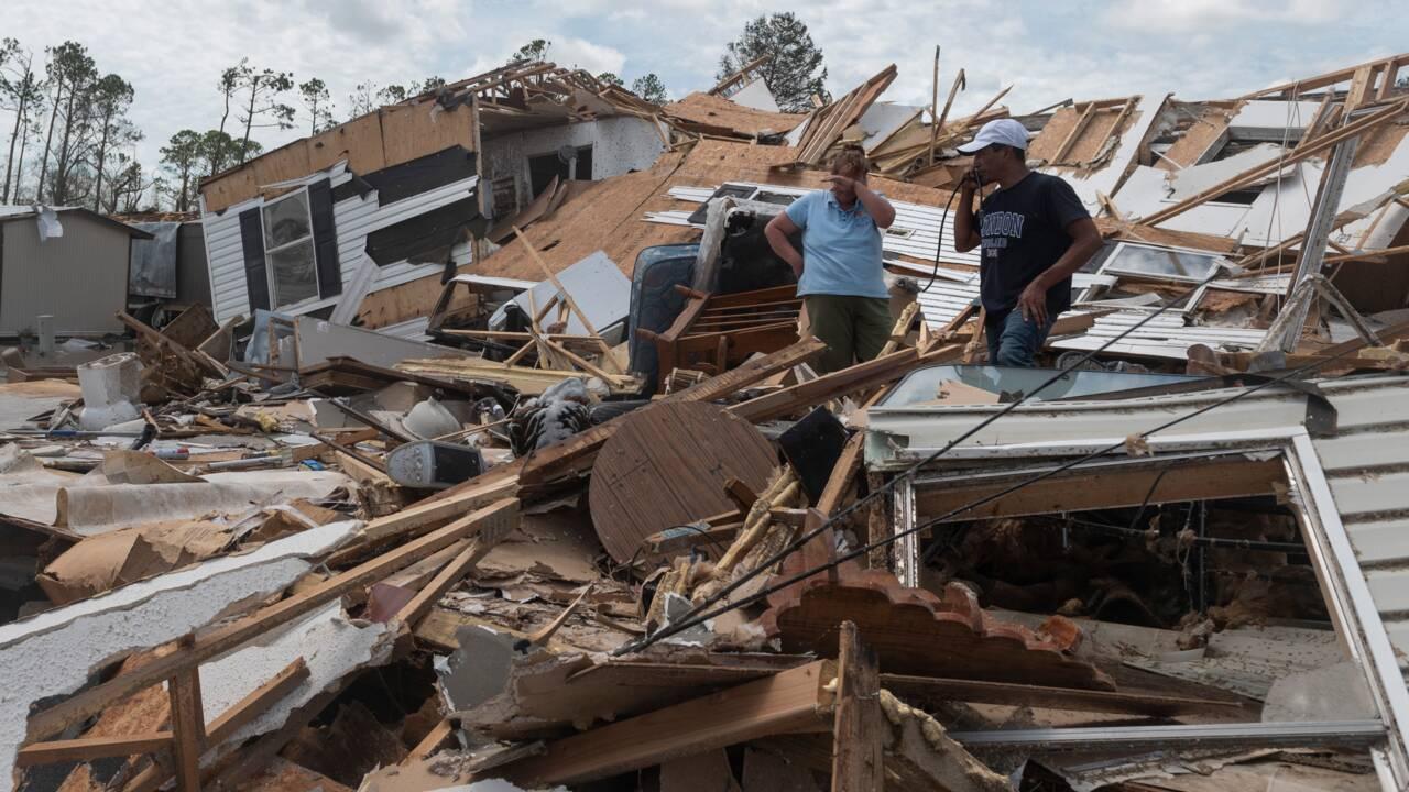 L'ouragan Laura fait 14 morts dans le sud des Etats-Unis mais moins de dégâts que redouté