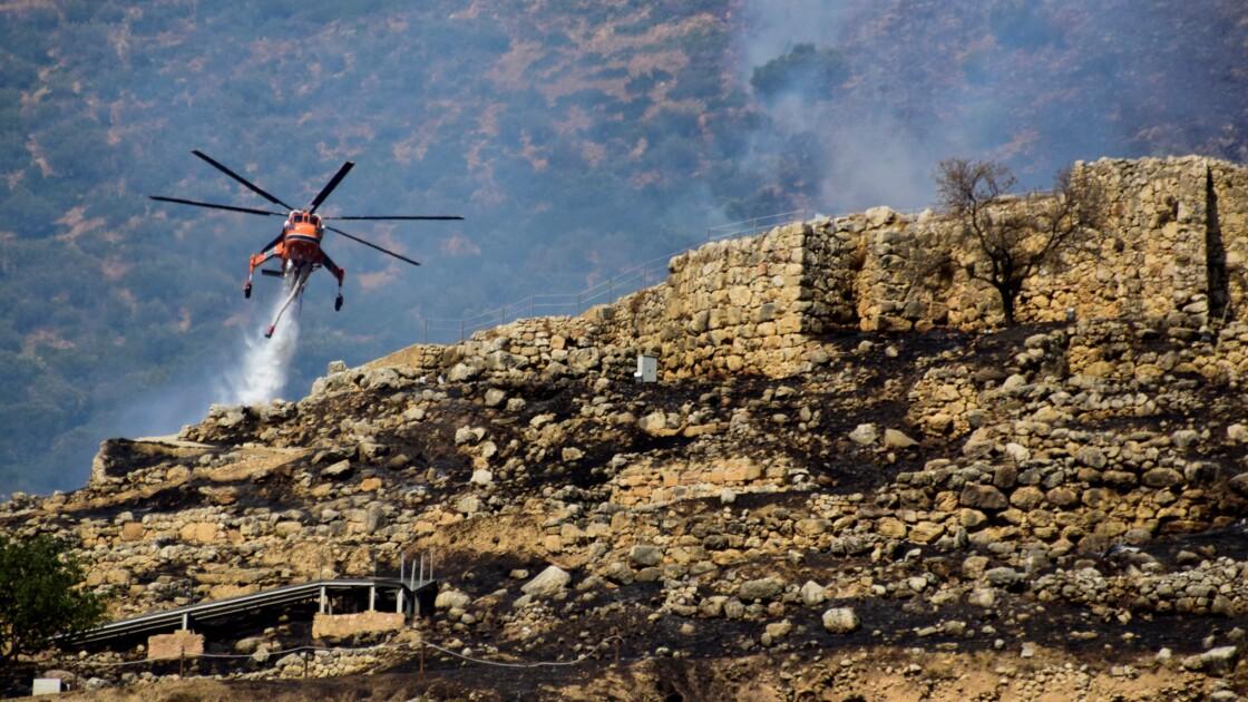 Grèce: pas de dégâts majeurs sur le site archéologique de Mycènes après un incendie