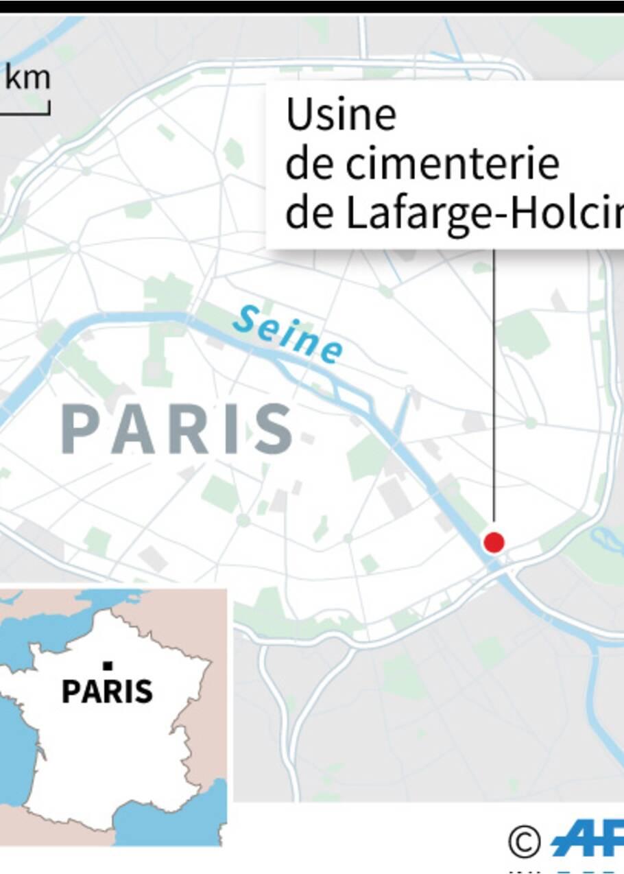 """Lafarge accusé de polluer la Seine, Hidalgo dénonce un """"scandale écologique"""""""