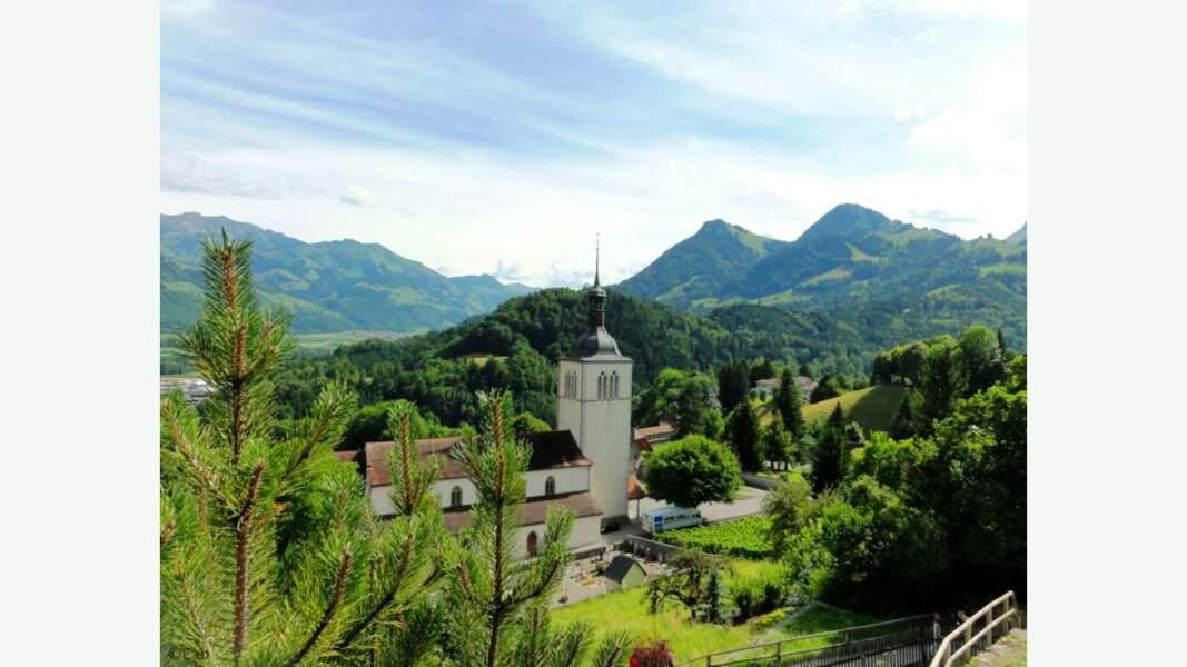 La ville médiévale de Gruyères