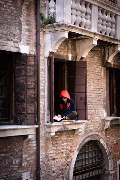 Les Vénitiens profitent de la sérénité inédite de leur ville