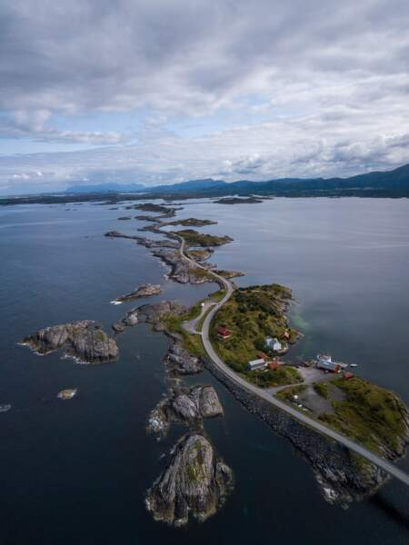 L'Atlantic Ocean Road, Norvège