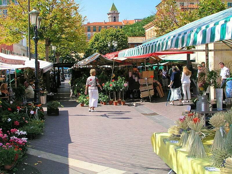 Le marché de Cours Saleya