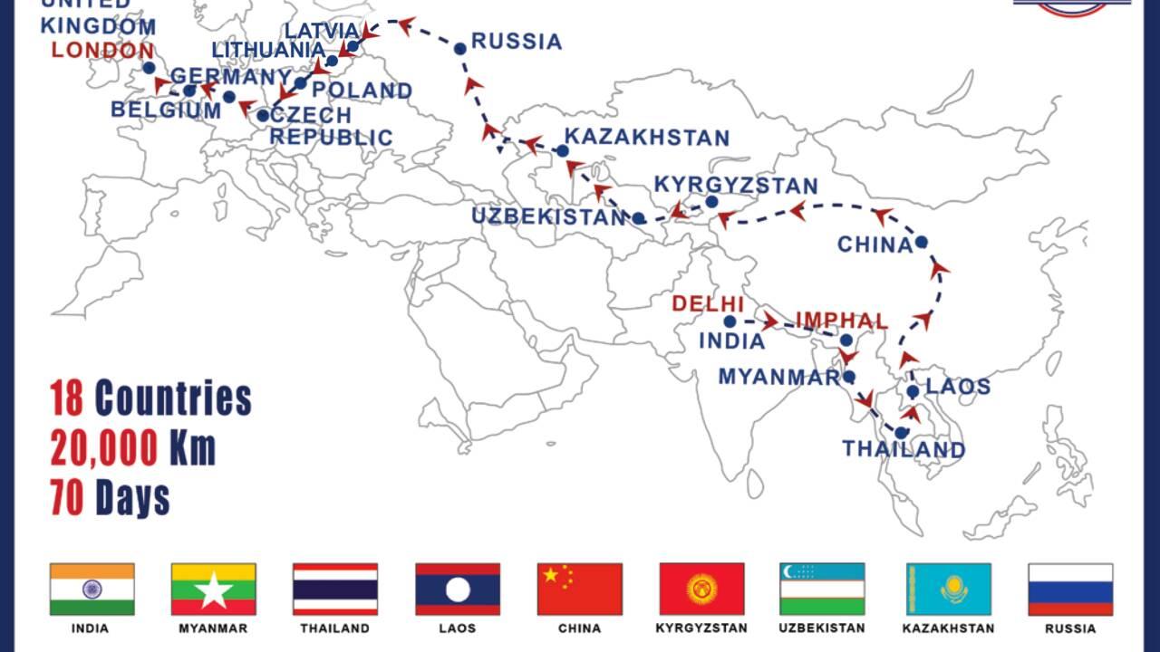 20 000 km, 70 jours, 18 pays… En 2021, la ligne de bus la plus longue du monde reliera Delhi à Londres