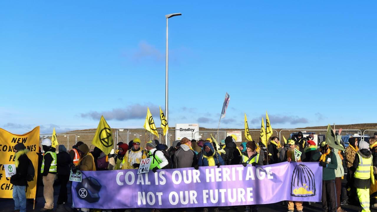 Le gouvernement britannique s'oppose à un projet de nouvelle mine de charbon