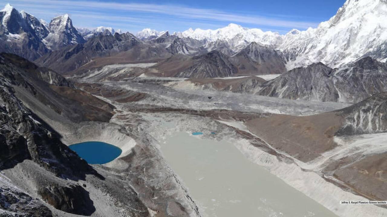 En 30 ans, le volume des lacs glaciaires a grimpé de 50% dans le monde