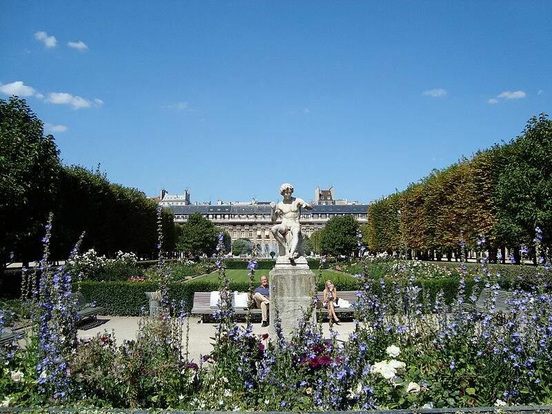 Jardin du Palais Royal (Paris