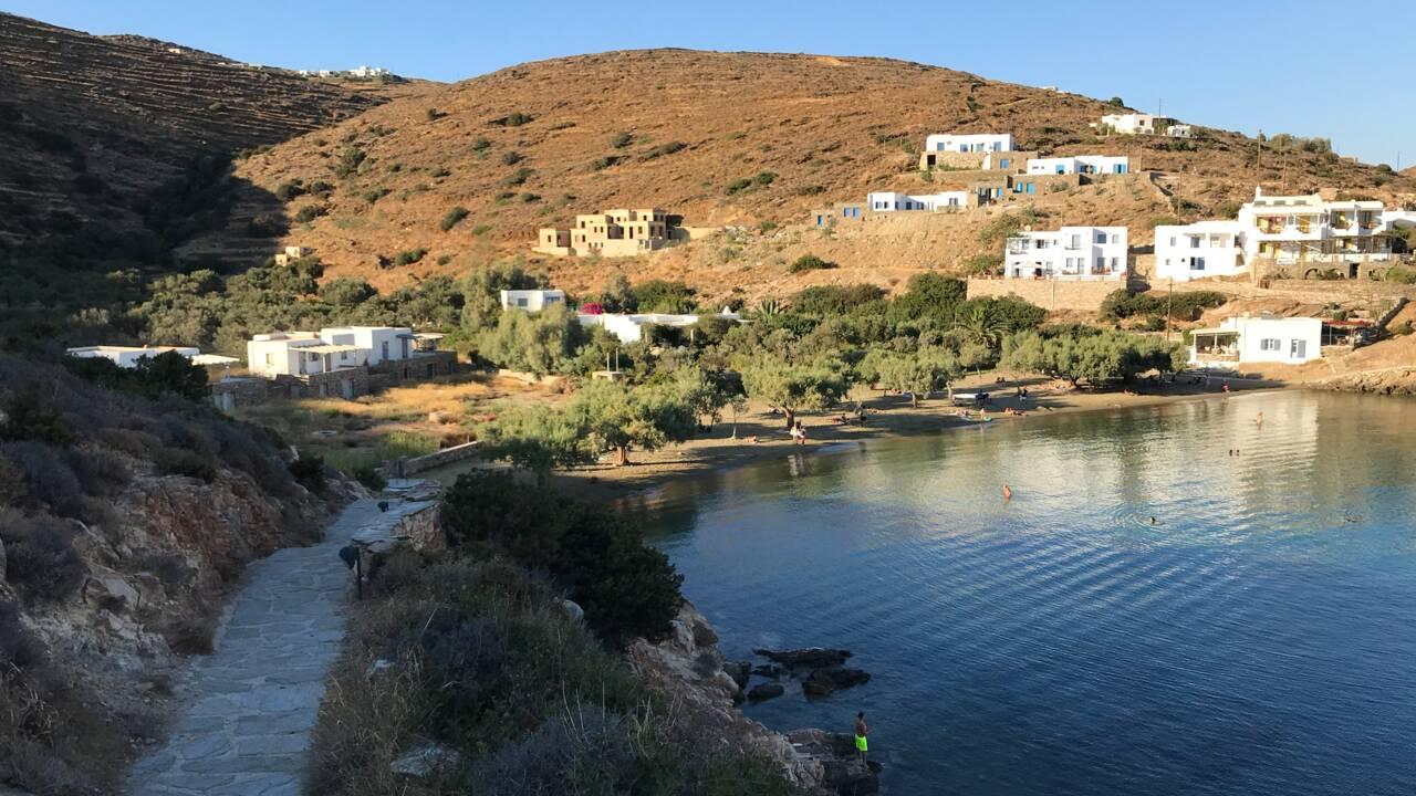Grèce : notre sélection des plus belles plages de l'île de Sifnos