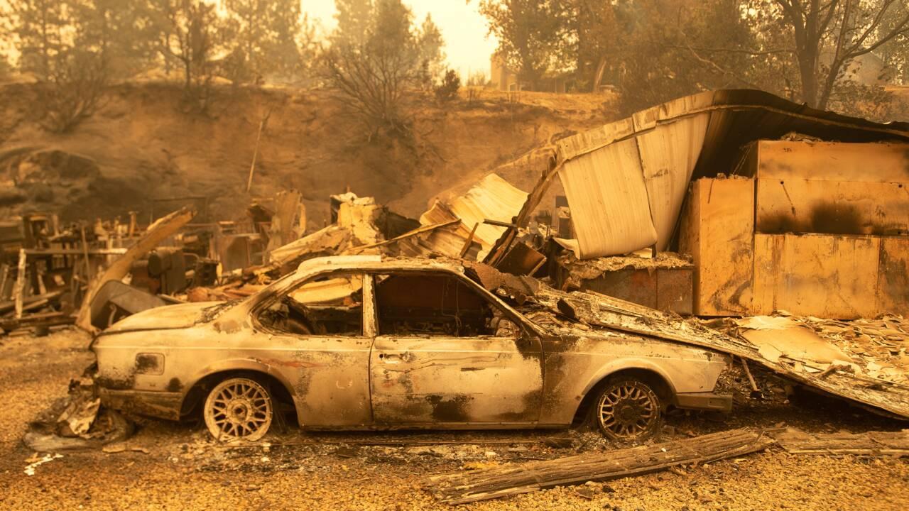 """La côte ouest américaine ravagée par des incendies """"sans précédent"""""""