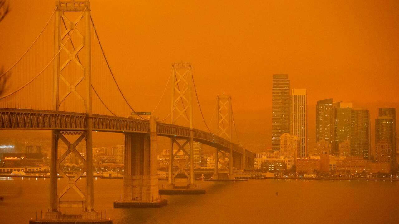 A San Francisco, un ciel d'apocalypse causé par des incendies historiques