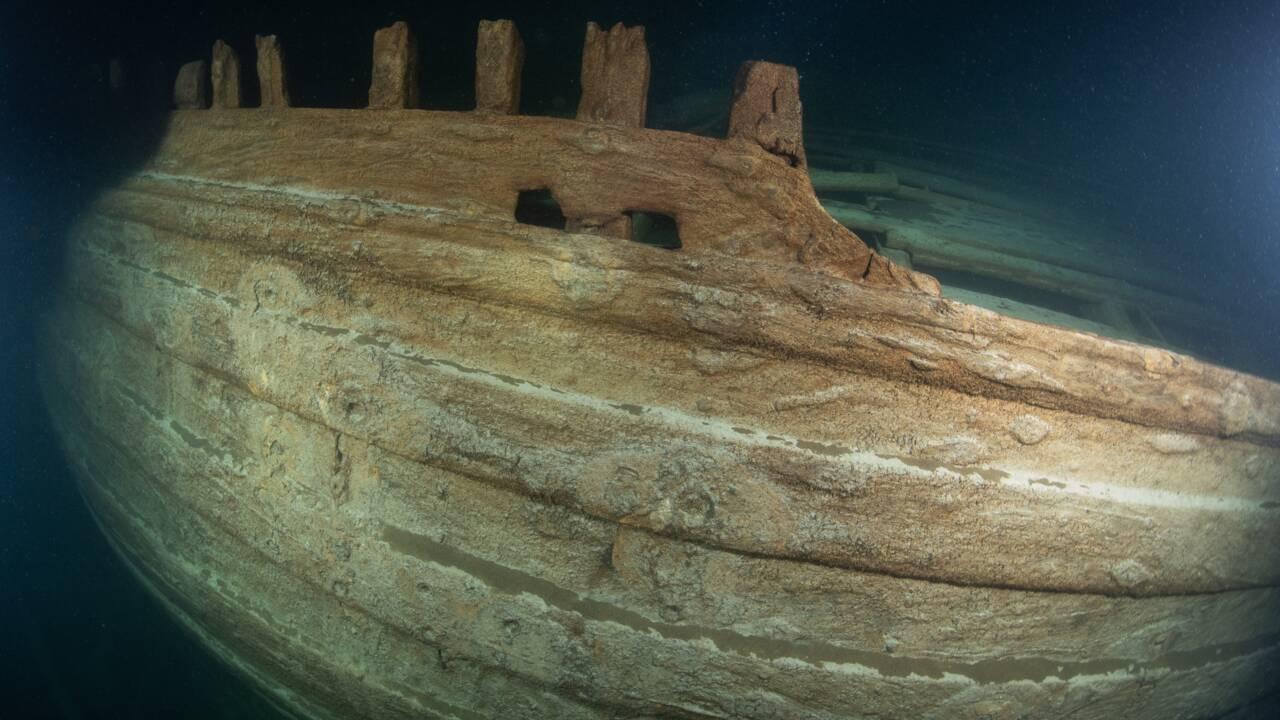Des plongeurs découvrent l'épave d'un navire du XVIIe siècle dans les fonds de la Baltique