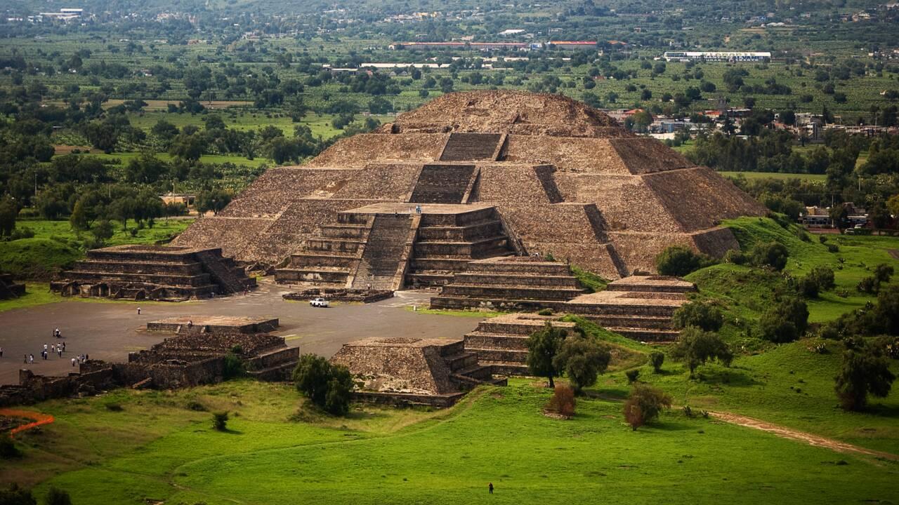 """Dans la vallée de Mexico, la """"Cité des Dieux"""" de Teotihuacán revient à la vie grâce aux touristes"""