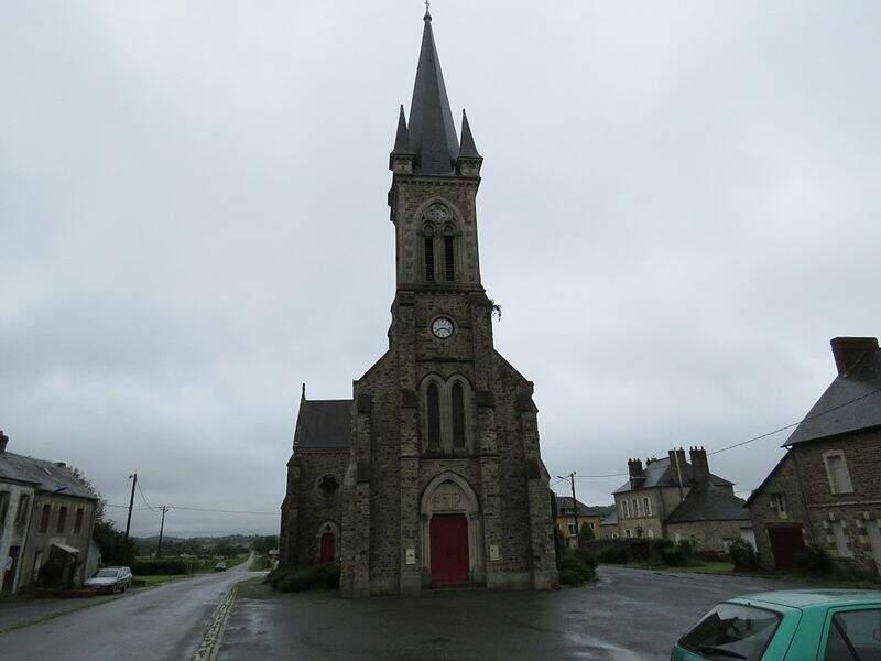 Église de Saint Julien des églantiers (Mayenne)
