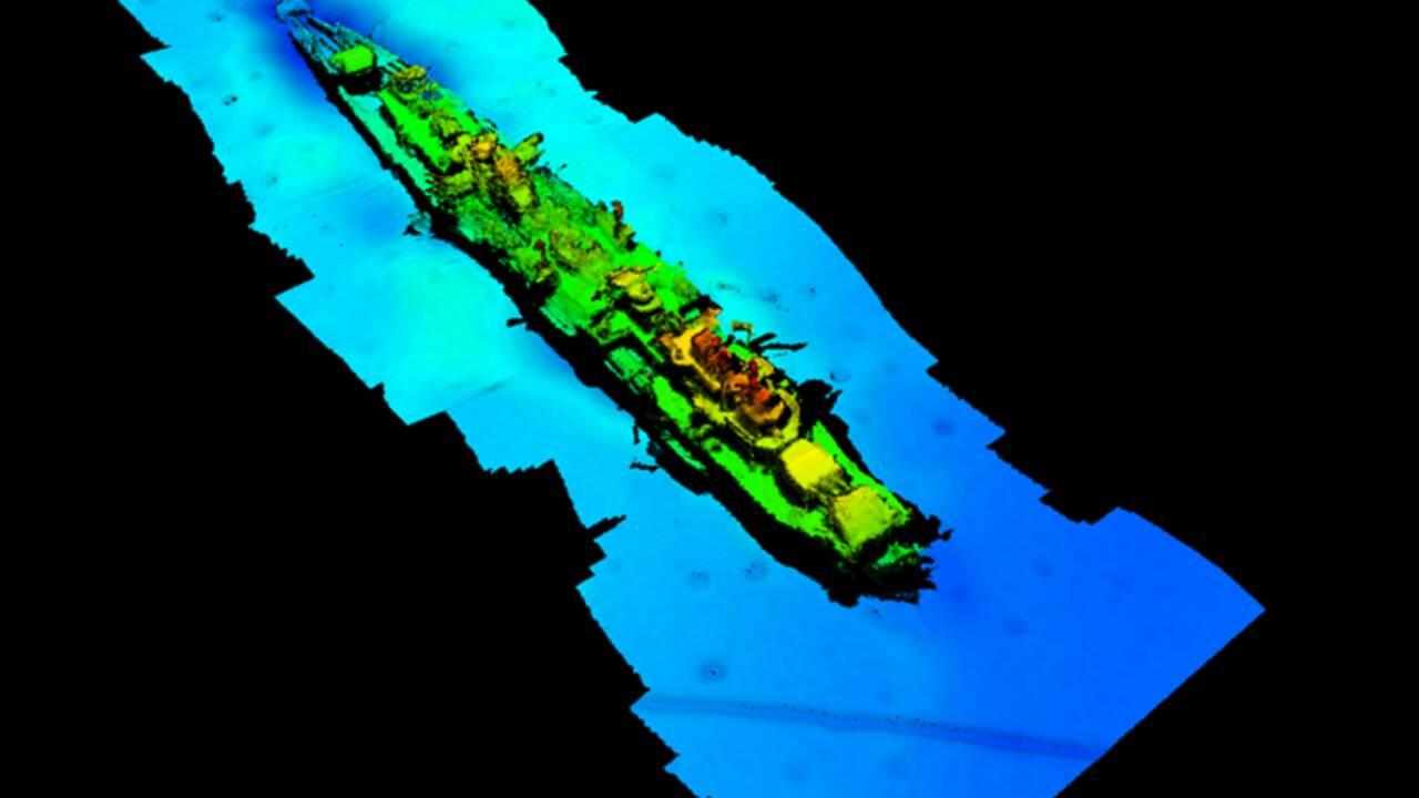 L'épave d'un croiseur allemand retrouvée 80 ans après au large de la Norvège