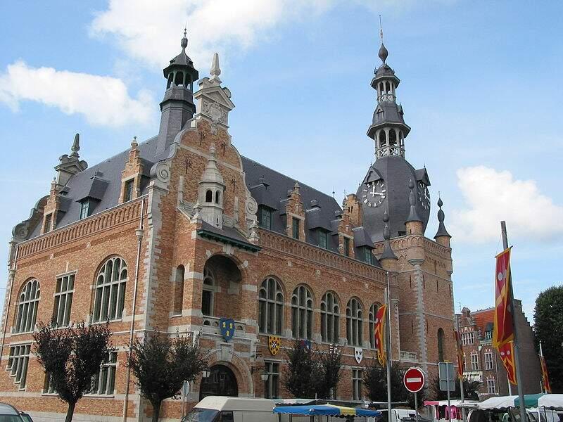 Hôtel de Ville de Comines (Nord)