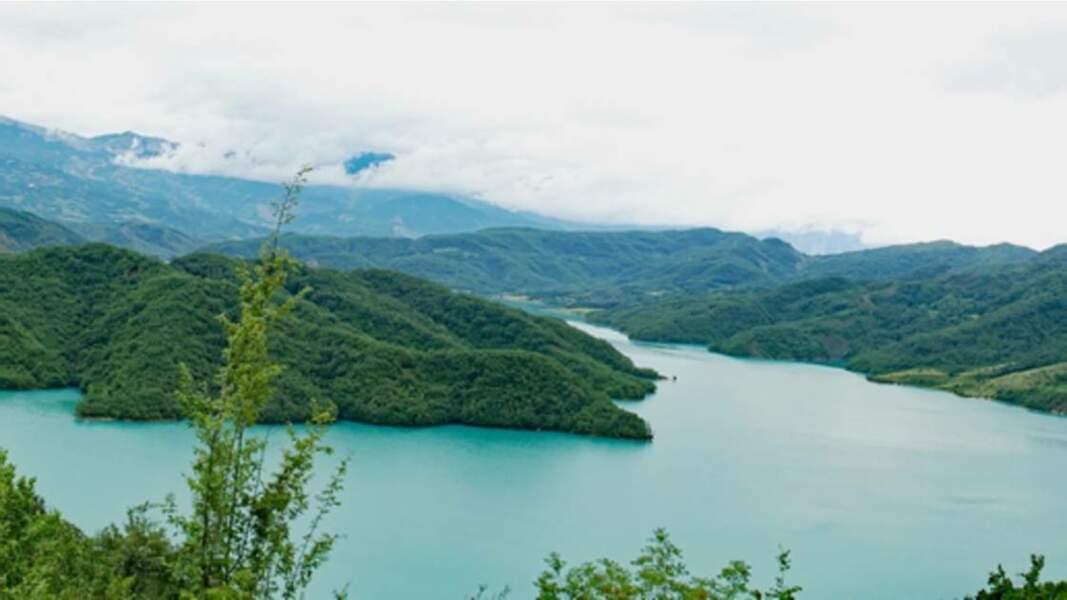 Lac Bovilla (lac de barrage)