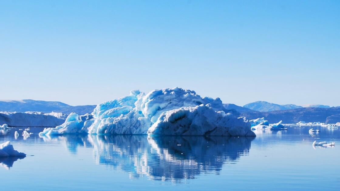 Le plus grand glacier d'Arctique a perdu 113 km2 de glace sous l'effet de la chaleur