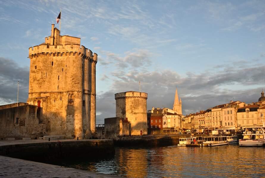 Les tours de La Rochelle (Charente-Maritime)