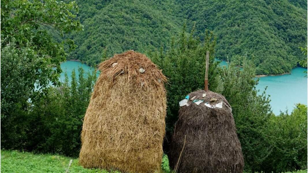 Meules au lac Bovilla