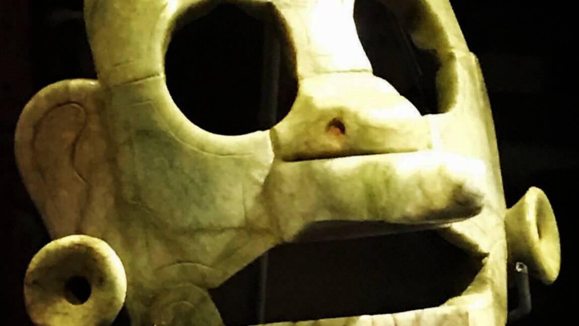 La Belgique restitue au Guatemala un masque maya vieux de plus de mille ans