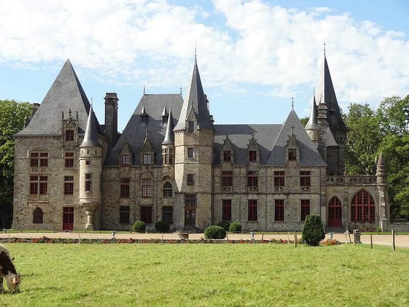 Parc et Château du Bois Cornillé (Ille-et-Vilaine)