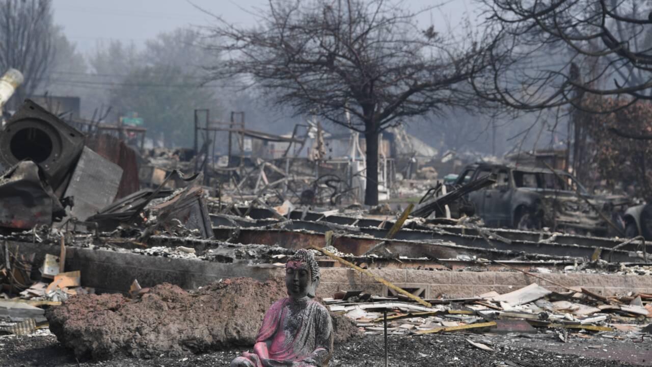 Les incendies américains si intenses que leur fumée atteint l'Europe