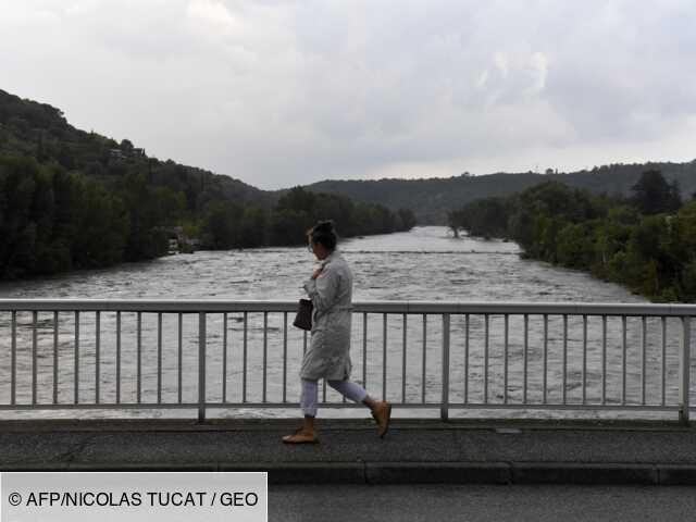 Pluies diluviennes dans les Cévennes, une personne portée disparue
