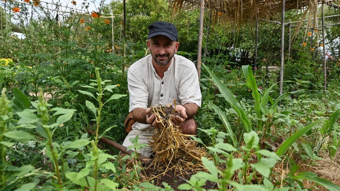 En Ardèche, un jardin agroécologique forme des citadins en quête de changement