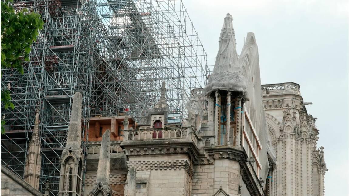 Notre-Dame : encore un mois de démontage pour l'échafaudage