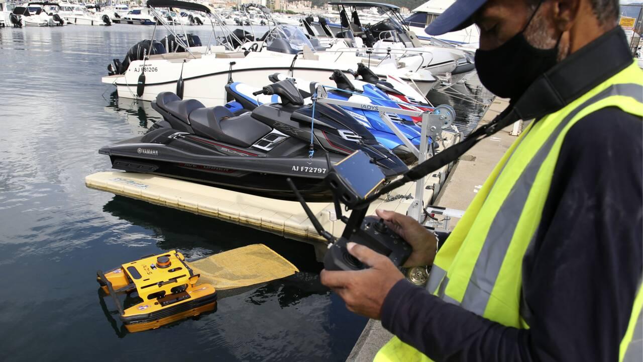 Pollution: les eaux du port d'Ajaccio sous surveillance 24 heures sur 24