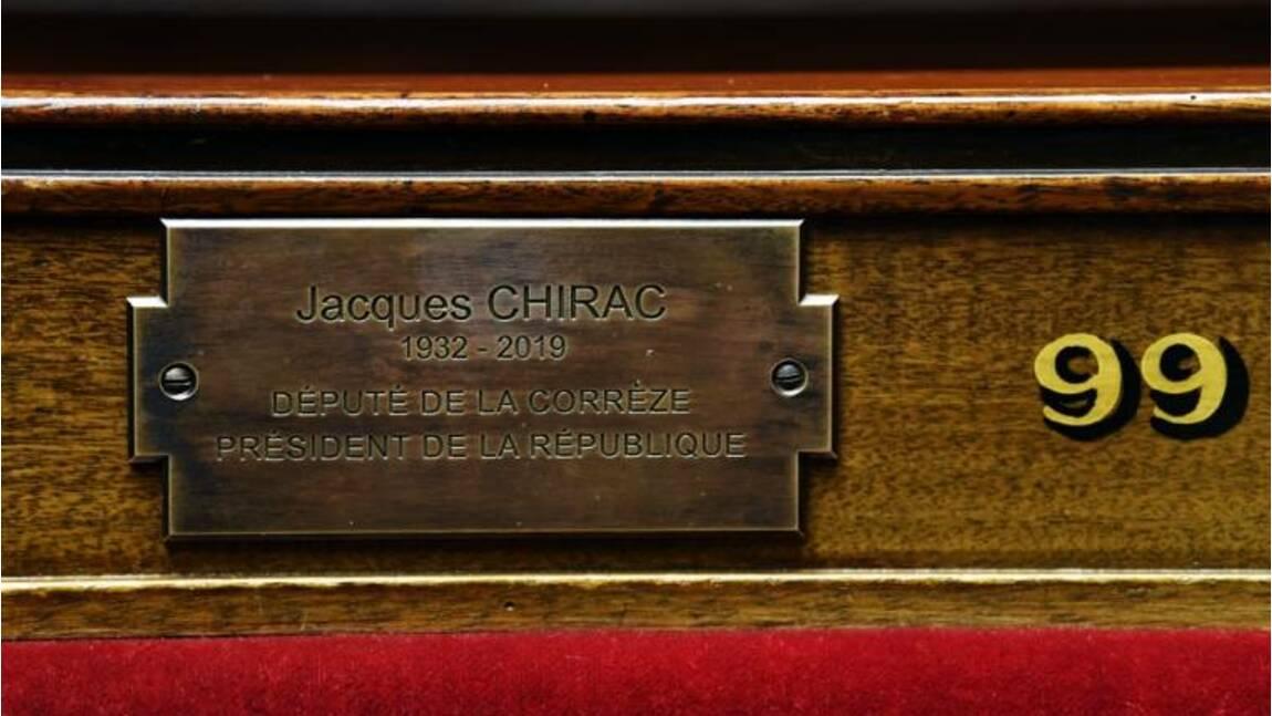 De Clemenceau à Chirac, 65 plaques commémoratives au Palais Bourbon