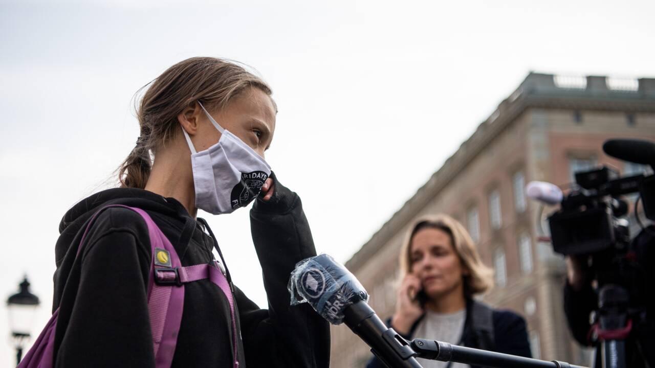 """Journée climat: Greta Thunberg veut """"renforcer la pression"""" sur les décideurs"""