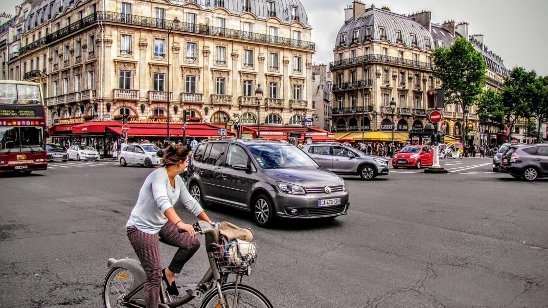 A Paris, panique sur les pistes cyclables
