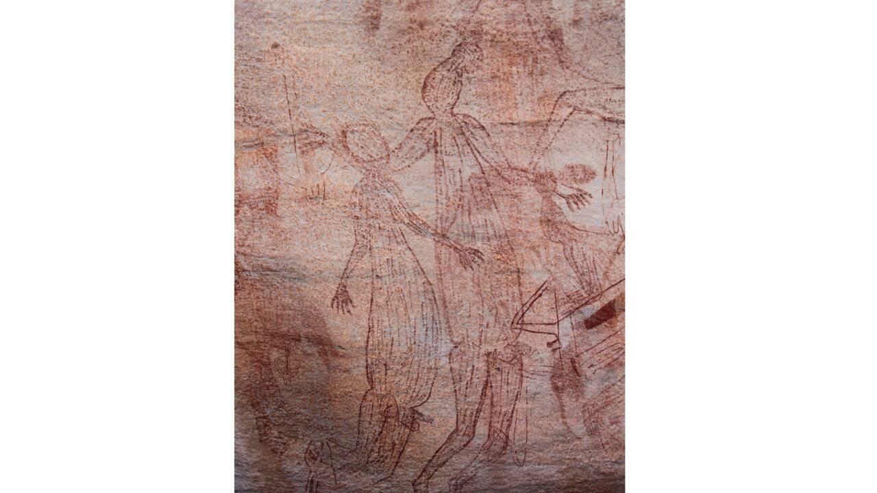 Des peintures rupestres découvertes en Terre d'Arnhem ouvrent une nouvelle fenêtre sur le passé