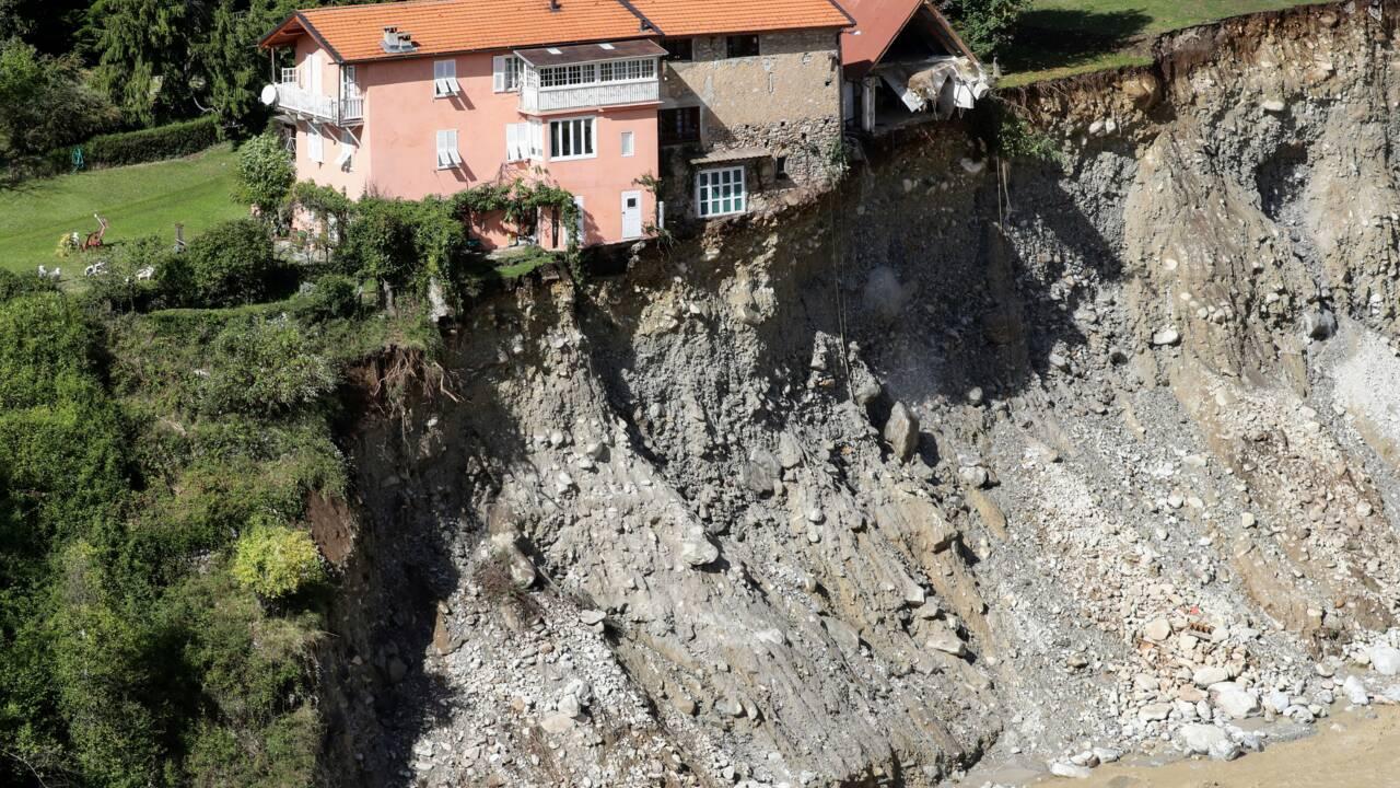 """Crues: """"effort prioritaire"""" sur la vallée de la Roya près de l'Italie"""