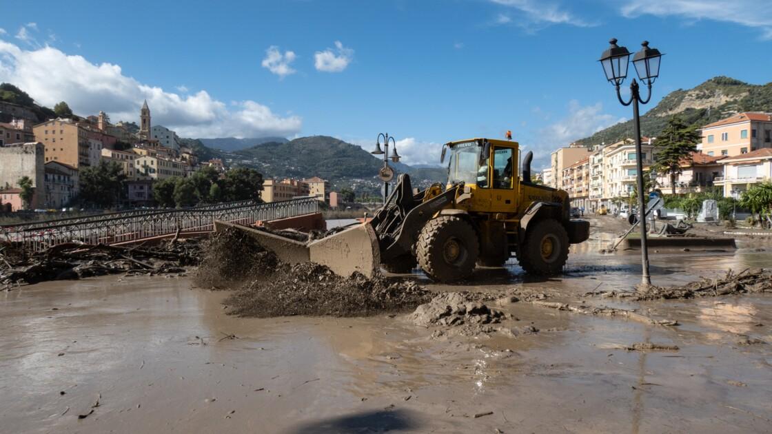 De la riviera italienne au Piémont, le désastre d'un déluge historique