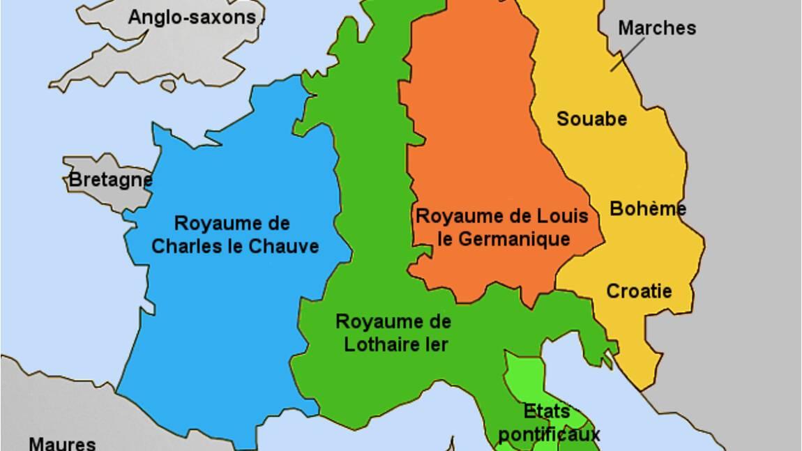 Le traité de Verdun de 843, ancêtre de l'Europe ?